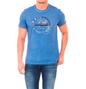 T-shirt Napapijri® Experience | Azul