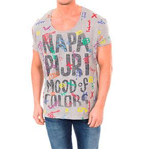 T-shirt Napapijri® | Cinza Padrão