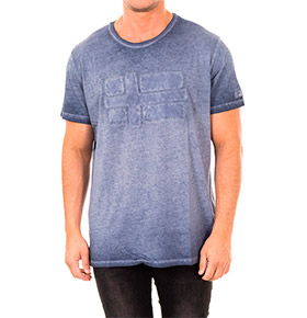 T-shirt Napapijri®   Azul Marinho