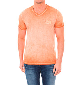 T-shirt Napapijri® Laranja