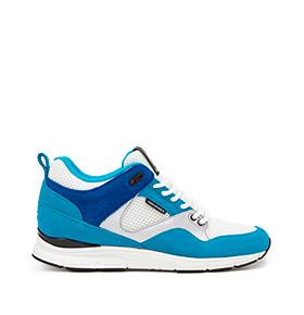 Ténis Gourmet® 35 Lite BK | Azul e Branco