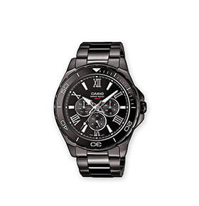 Relógio Casio® Collection | MTD-1075BK-1A1