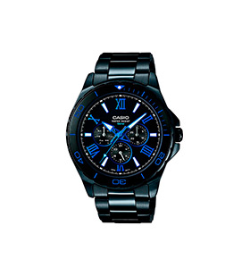 Relógio Casio® Collection | MTD-1075BK-1A2