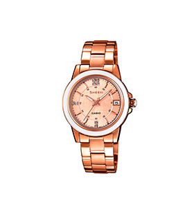 Relógio Casio® Sheen | SHE-4512PG-9A