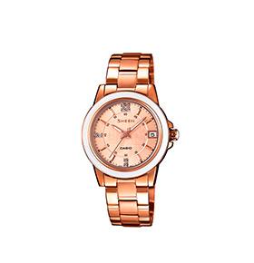 Relógio Casio® Sheen   SHE-4512PG-9A