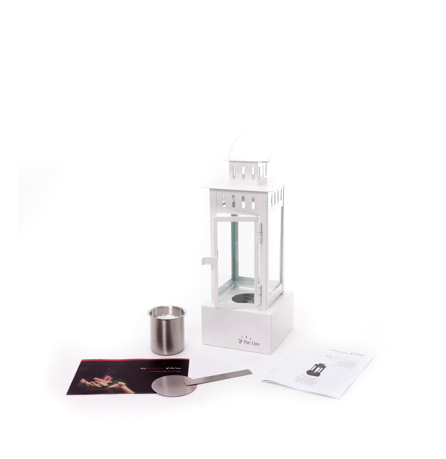 Biolareira de Mesa Iris | Branco