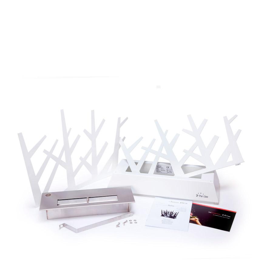 Biolareira Dafne de Mesa | Branco