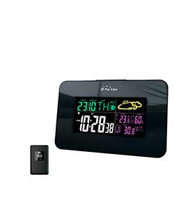 Estação Meteorológica WS04 | Relógio, Alarme, Tempo e Data