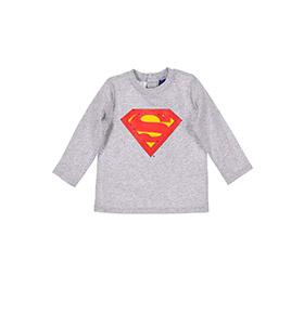 Camisola SuperBaby | Cinzento