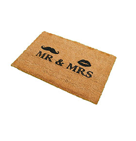 Tapete de Entrada Artsy  Doormats® | Mr & Mrs
