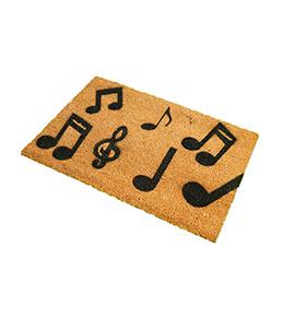 Tapete de Entrada Artsy  Doormats® | Música