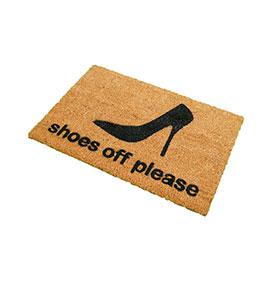 Tapete de Entrada Artsy  Doormats® | Sapato
