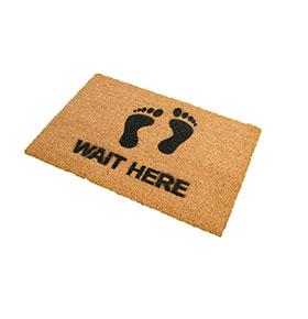 Tapete de Entrada Artsy  Doormats® | Pés