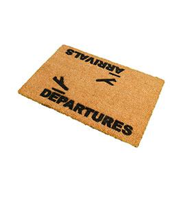 Tapete de Entrada Artsy  Doormats® | Chegada
