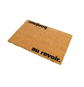 Tapete de Entrada Artsy  Doormats® | Au revoir