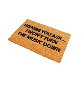 Tapete de Entrada Artsy  Doormats® | Music