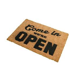 Tapete de Entrada Artsy  Doormats® | Open