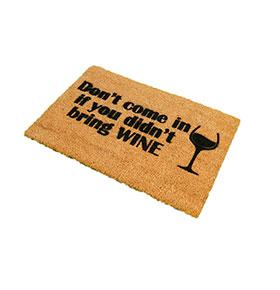 Tapete de Entrada Artsy  Doormats® | Wine
