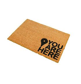 Tapete de Entrada Artsy  Doormats® | You Are Here