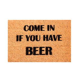 Tapete de Entrada Artsy  Doormats® | Beer