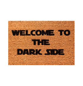 Tapete de Entrada Artsy  Doormats® | Dark Side