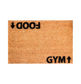 Tapete de Entrada Artsy  Doormats® | Food