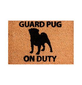 Tapete de Entrada Artsy  Doormats® | Pug