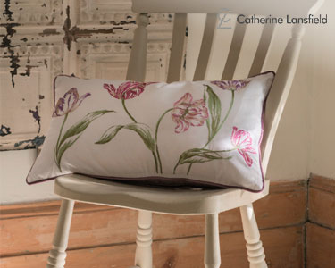 Almofada Decorativa c/ Enchimento Tulips