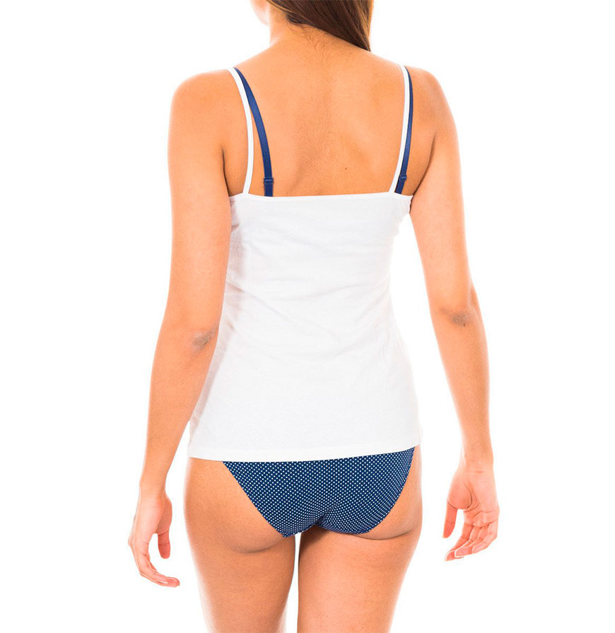 Pack 2 T-shirts de Alças Dim® | Branco