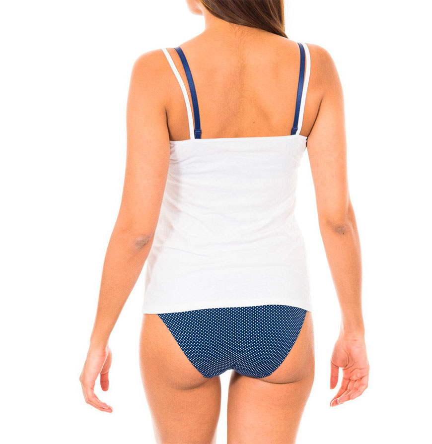 Pack 2 T-shirts de Alças Dim® | Preto e Branco