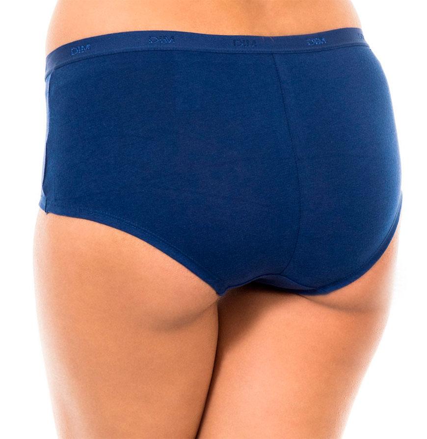 Pack 3 Cuecas Dim® | Preto, Azul e Azul com Padrão