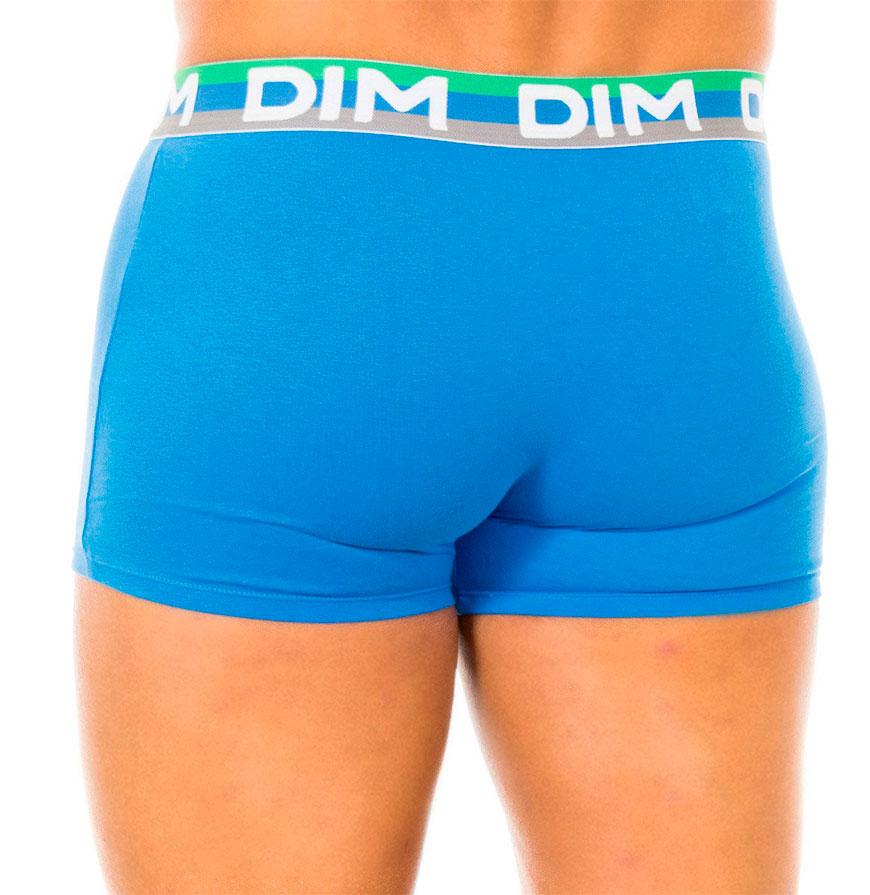 Pack 3 Boxers Dim® | Cinzento, Verde e Azul