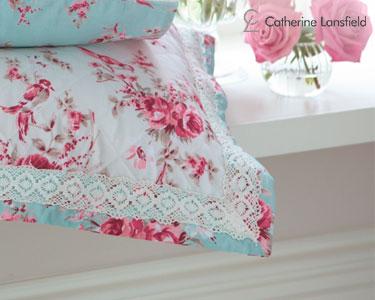 Almofada Decorativa c/ Enchimento Catherine Lansfield® Mirabelle