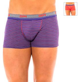 Pack 2 Boxers Dim® | Lilás com Riscas e Coral