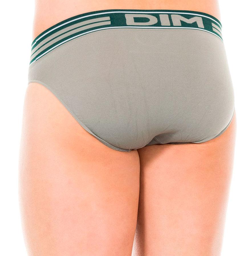 Pack 2 Slips Dim® | Cinzento e Verde