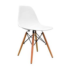 Cadeira Nórdica Tower | Branco