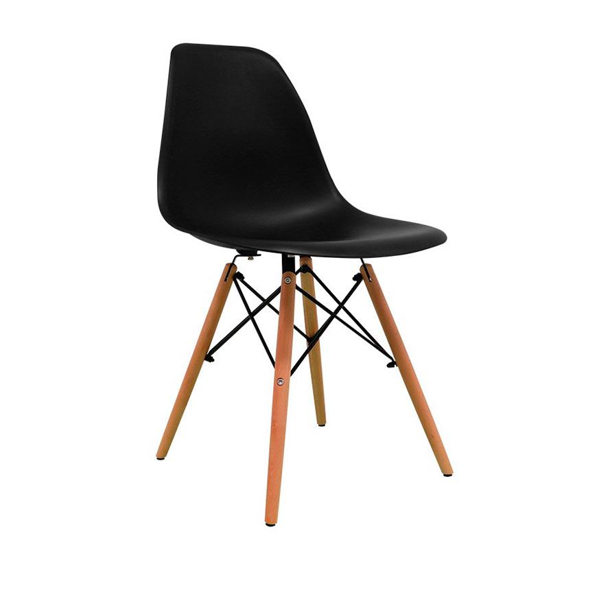 Cadeira Nórdica Tower | Preto