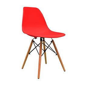 Cadeira Nórdica Tower | Vermelho