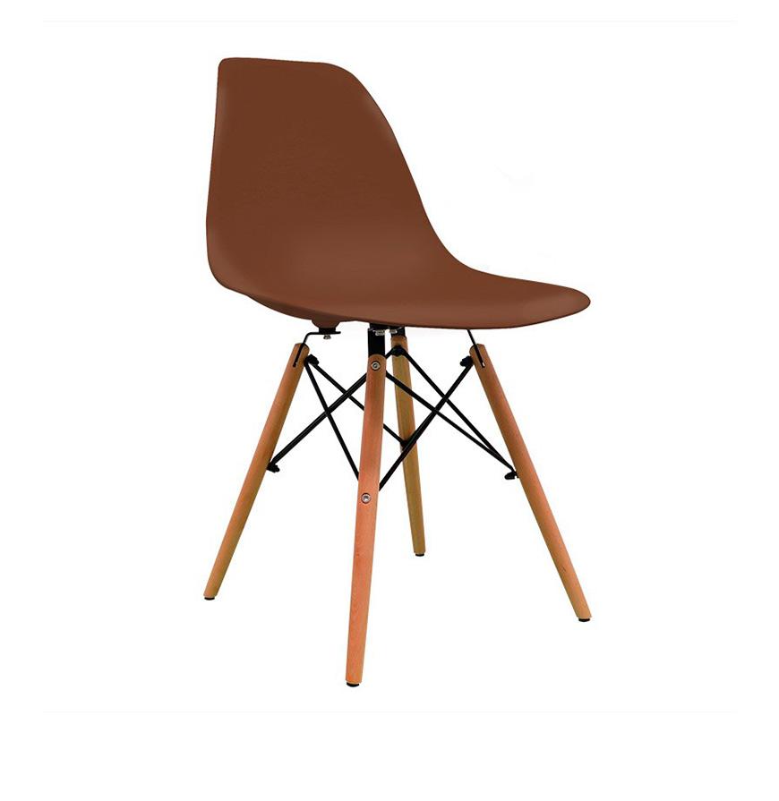 Cadeira Nórdica Tower | Castanho