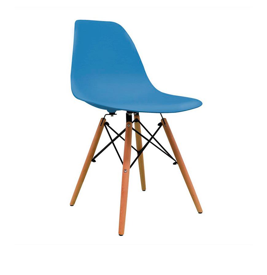 Cadeira Nórdica Tower   Azul Petróleo