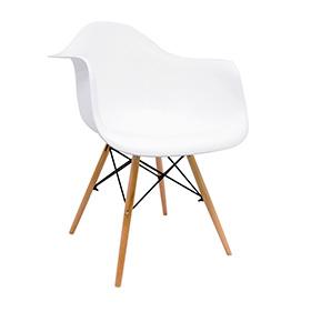 Cadeira Nórdica Dau | Branco
