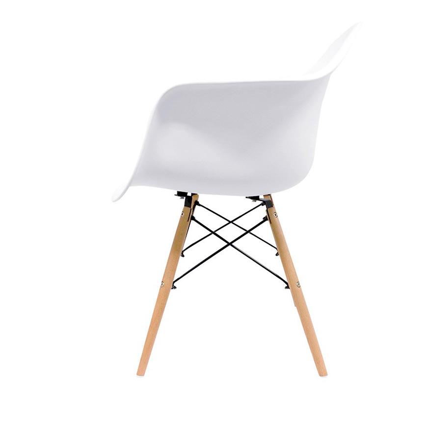 Cadeira Nórdica Dau   Branco