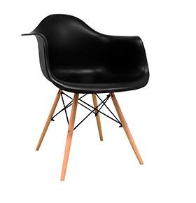 Cadeira Nórdica Dau| Preto