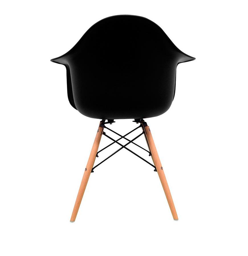Cadeira Nórdica Dau | Preto