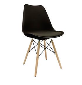 Cadeira Nórdica Tilsen| Preto
