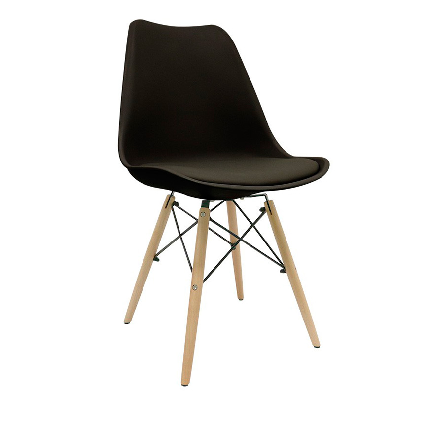 Cadeira Nórdica Tilsen | Preto