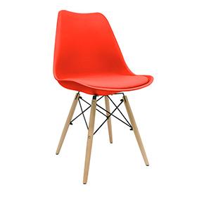 Cadeira Nórdica Tilsen | Vermelho