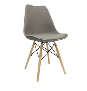 Cadeira Nórdica Tilsen | Cinza