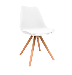 Cadeira Nórdica Bonik| Branco