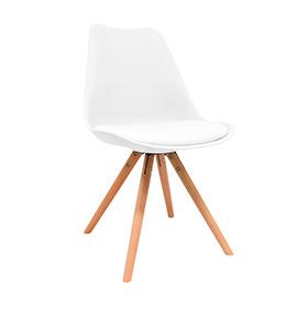 Cadeira Nórdica Bonik | Branco
